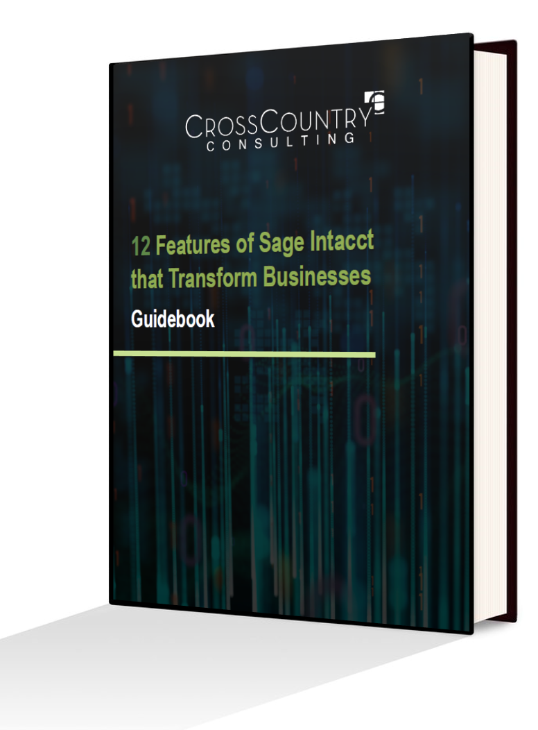 12 Features of Sage Intacct