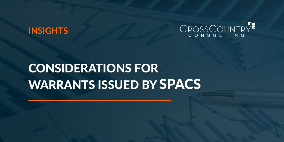 Considerations for Warrants Issued by SPACs