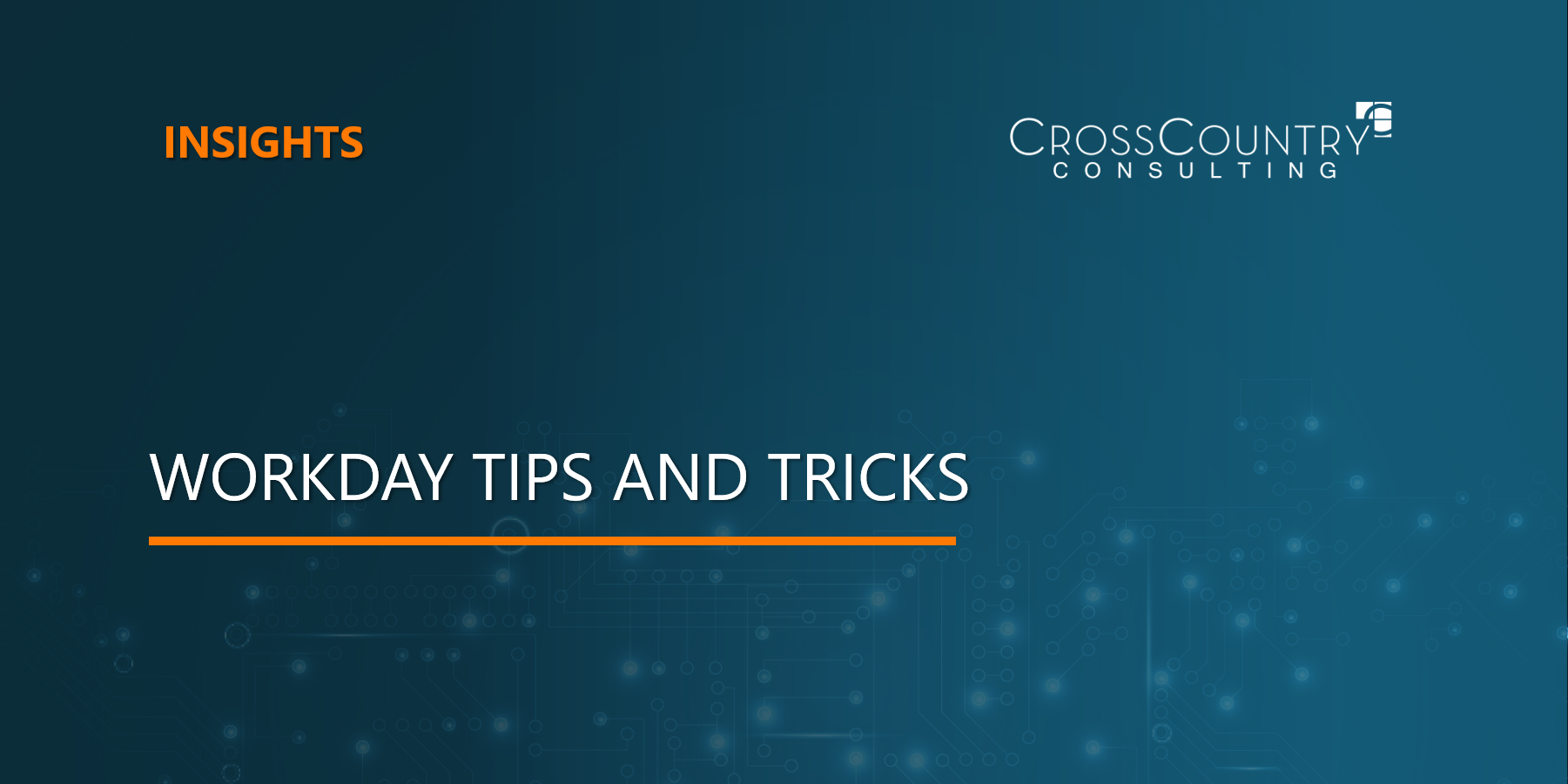 Workday Tips and Tricks
