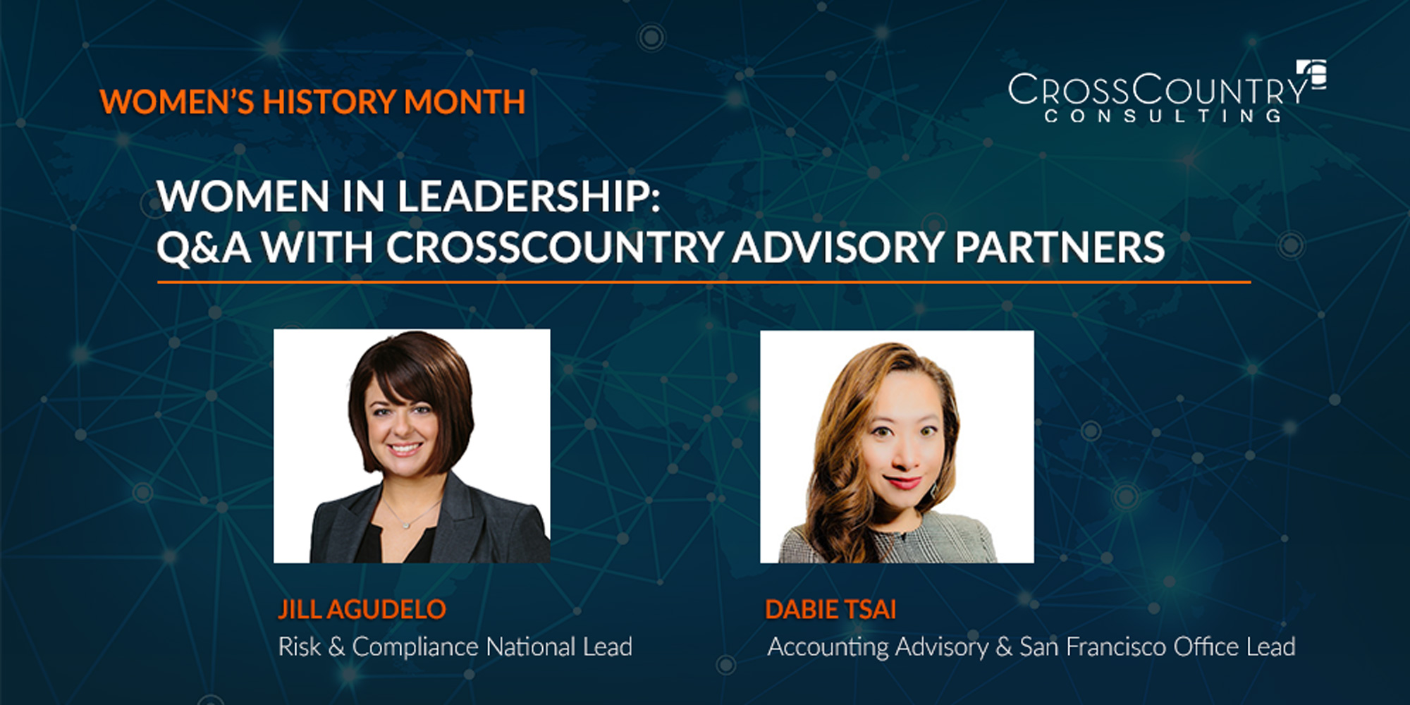 Women in Leadership: Q&A with CrossCountry Advisory Partners
