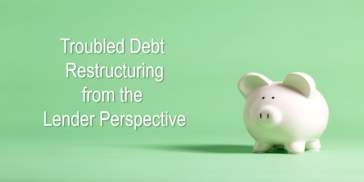 Troubled Debt Restructuring from the Lender Perspective